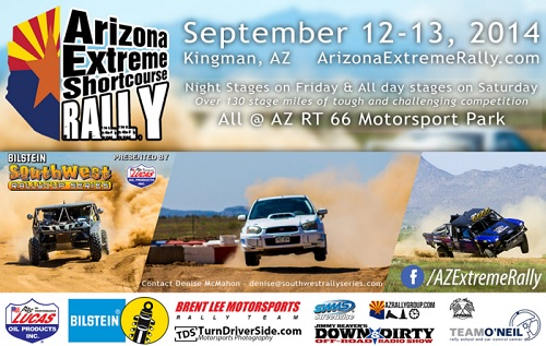 About Arizona Extreme Shortcourse Rally